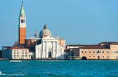 Veneza, vista de san giorgio maggiore de san marco. — Fotografia Stock