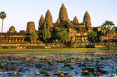 Angkor Wat Temple before sunset, Siem Reap, Cambodia. — Stock Photo