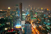 Bangkok skyline. — Stock Photo