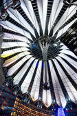 SONY CENTER, POTSDAMER PLATZ, Berlin, Germany. — Stock Photo