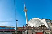 アレクサンダー ・ プラッツ地下鉄駅、ベルリン、ドイツ. — ストック写真