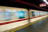 Metra Roma, z ruchu kolejowego. — Zdjęcie stockowe