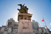 Rome,Vittorio Emanuele, near Piazza Venice, Rome, Italy. — Stock Photo