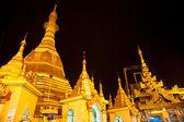 Sule Pagoda, Yangon, Myanmar. — Stock Photo