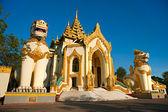 Shwedagon Paya, Yangoon, Myanmar. — Zdjęcie stockowe