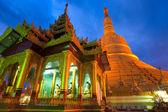 Shwemawdaw Paya, Bago, Myanmar. — Fotografia Stock