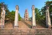 Thien Mu Pagoda, Hue, Vietnam. — Stock Photo