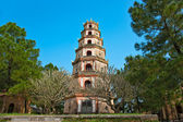 Thien Mu Pagoda, Hue, Vietnam. — Stock Photo