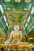 Giant Buddha in sagaing hill, Mandalay, myanmar. — Stock Photo