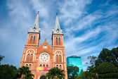 Notre Dame cathedral in Ho Chi Minh City, Vietnam. — Stock Photo