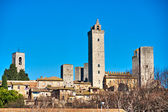 View of san gimignano, Siena, Tuscany, Italy. — Stock Photo
