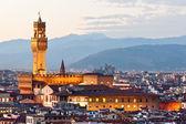 Florence, Palazzo Vecchio, piazza della Signoria. — Stock Photo