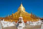 Shwezigon Paya, Bagan, Myanmar. — Stock Photo