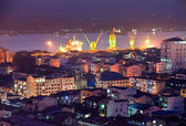 View of Yangon, Myanmar. — Stock Photo