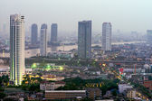 Horizonte de banguecoque, tailândia. — Foto Stock