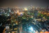 Night view of Bangkok, Thailand. — Stock Photo