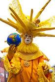 Máscara de venecia, carnaval. — Foto de Stock