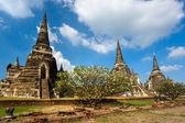 Wat Phra Si Sanphet, Ayutthaya, Thailand, — Stock Photo