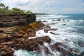 The Tanah Lot Temple, Bali, Indonesia. — Stock Photo