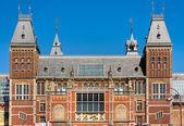 Amsterdam, rijksmuseum. — Foto Stock