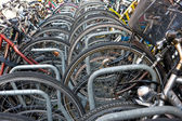 Bike Parking, Amsterdam — Stock Photo