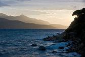 Sunset in Elba, Italy. — Stock Photo
