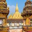 Wat That Luang, Laos. - Stock Photo