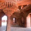 Indian Architecture in Fatehpur Sikri. Rajasthan, India. — Foto de Stock