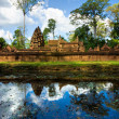 Banteay srei, Angkor, Cambodia. - Stock Photo