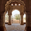 Stock Photo: Rchitecture of Orcha's Palace, India.