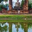 Wat Mahathat, Sukhothai, Thailand, — Stock Photo