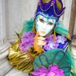 Venice Masks, Carnival. — Stock Photo