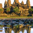 Angkor Wat at sunset, Cambodia. — Stock Photo #13826289