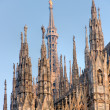 Duomo in Milan, Italy. - Stock Photo