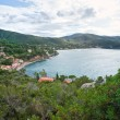 View of Bay of Biodola, Portoferraio, ElbIsland. — Stock Photo #13826342