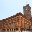Berlin city hall, Alexanderplatz,  Germany. - Stock Photo