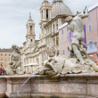 Piazza Venezia, Rome, Italy. — Stock Photo