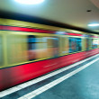 Berlin Subway. — Stock Photo