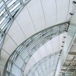 Stock Photo: Modern Airport interior, Suvarnabhumi International Airport, ban