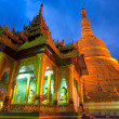 SHWEMAWDAW PAYA, Bago, Myanmar. - Stock Photo