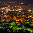 Night view of Florence from Fiesole. — Stock Photo
