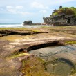 The Tanah Lot Temple, Bali, Indonesia. — Foto Stock