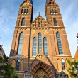 Amsterdam,  Church in Jordaan, Holland. — Stock Photo