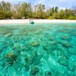 Beautiful sea at Gili Meno, Indonesia. — Foto de Stock