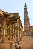 库特卜塔,新德里印度. — 图库照片