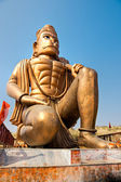 Great bronze Hanuman statue near Delhi, India. — Stock Photo