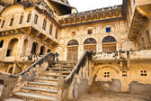 Typical Indian architecture, India. — Stock Photo