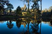 Bayon tempel, angkor thom, cambodia — Stockfoto
