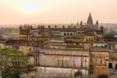 Orcha's Palace at sunset, India. — Stock Photo