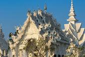 White Temple, Chiang Rai, Thailand. — Stock Photo